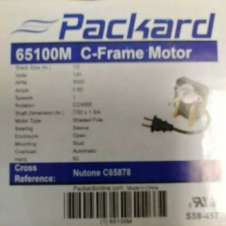 65100M Packard C-Frame Motor Stack Size 3000 RpmC65878 motor 65100M