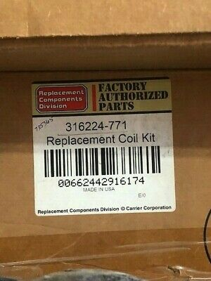 CARRIER EVAPORATOR COIL 316224-771 NEW