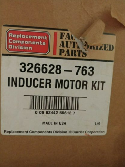 Carrier 326628-763 Inducer Motor Kit 326628763 New made USA