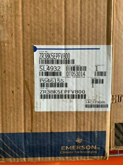 Copeland Scroll ZR38K5EPFV-800 Compressor