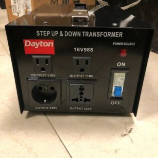 DAYTON 16V988A Step Up Down Voltage Converter 3kVA