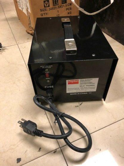 DAYTON 16V988A Step Up Down Voltage Converter 3kVA