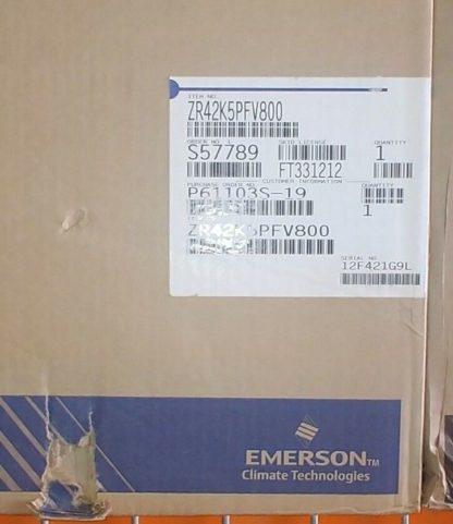 Emerson Copeland Scroll AC Compressor 208-230V 1 Ph 60 Hz ZR42K5E-PFV-800