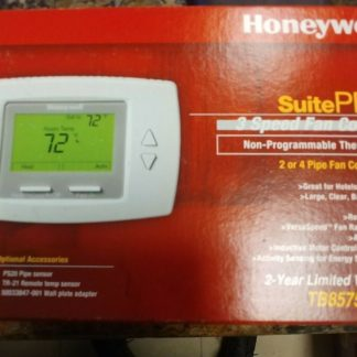 HONEYWELL SUITE PRO 3SPEED FAN CONTROL NON-PROGRAMMABLE THERMOSTAT TB8575A1000