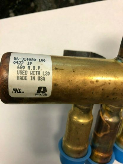 Ranco V6-2103 Heat Pump Reversing Valve less coil R22 1-5.5 tons
