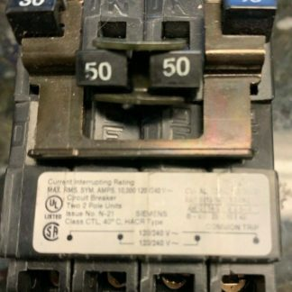 Siemens Circuit Breaker 30 - 50 Q23050ct2 Brand New