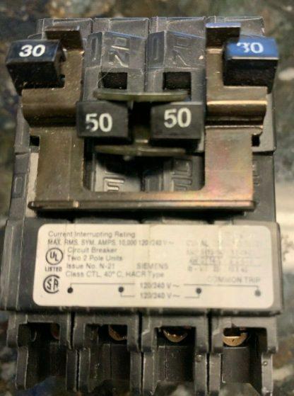 Siemens Circuit Breaker 30 - 50 Q23050ct2 Brand New