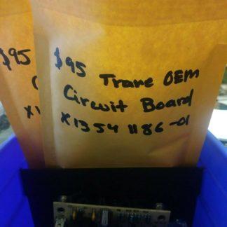 USED Trane American Standard circuit board X1354 1186-01