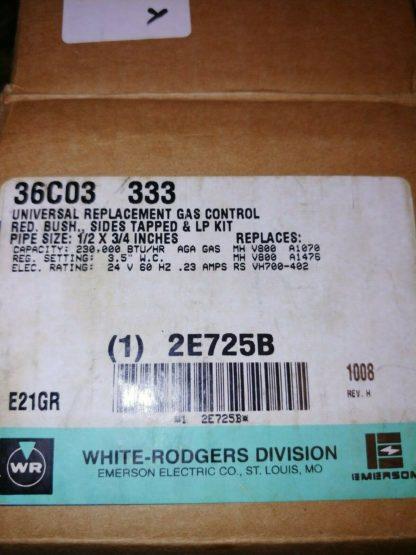 WHITE-RODGERS 36C03-333 24V