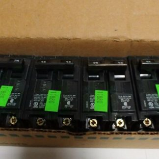 SIEMENS q225 CIRCUIT BREAKER 2-POLE 25 AMP 120 240 VAC 60Hz each
