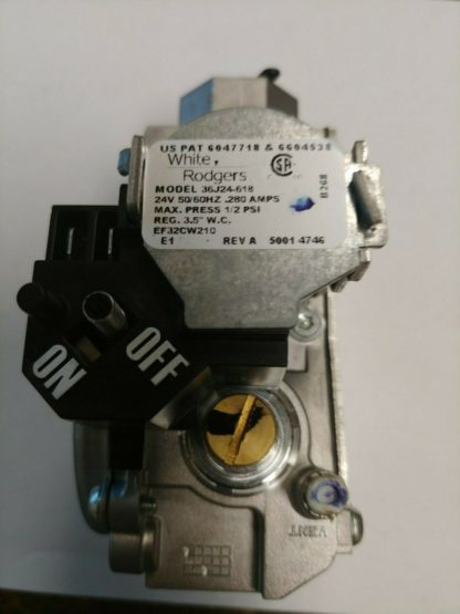 White Rodgers 36J24-618 Bottom Out Natural Furnace Gas Valve 24V 50/60Hz