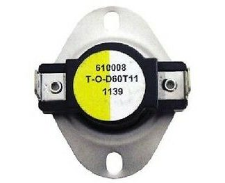 Supco L150 SPST Limit Control Thermostat Snap Disc L150-20F