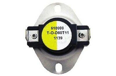 Supco L150 SPST Limit Control Thermostat Snap Disc L150-20F